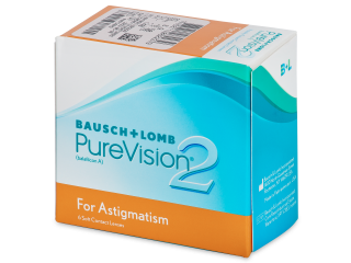 PureVision 2 for Astigmatism (6 lenses)