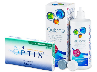 Air Optix for Astigmatism (6lenses) +GeloneSolution360ml