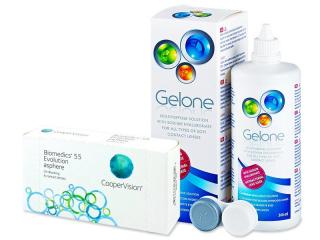 Biomedics 55 Evolution (6lenses) +GeloneSolution360ml