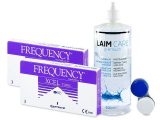 FREQUENCY XCEL TORIC (2x3lenses) +Laim-CareSolution 400ml