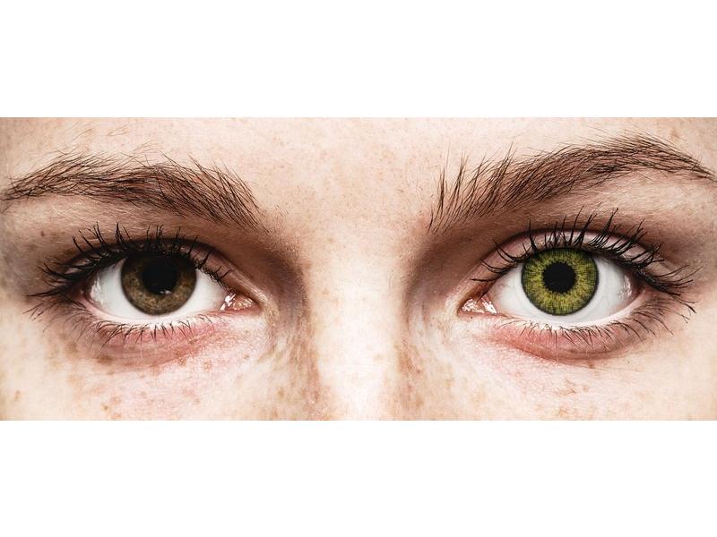 Air Optix Colors - Gemstone Green - plano (2lenses)