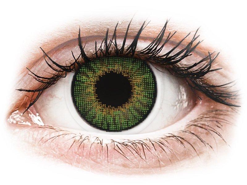 Air Optix Colors - Green - plano (2lenses)