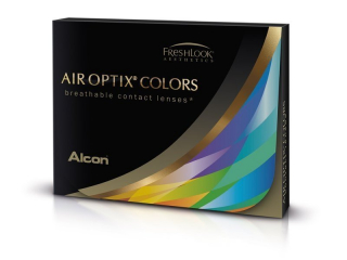 Air Optix Colors - Sterling Gray - power (2 lenses)