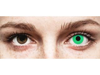 ColourVUE Crazy Lens - Emerald (Green) - plano (2 lenses)