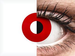 ColourVUE Crazy Lens - Red Devil - plano (2 lenses)
