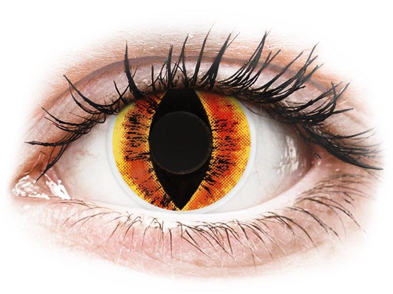 ColourVUE Crazy Lens - Saurons Eye - plano (2 lenses)