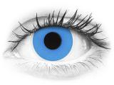 ColourVUE Crazy Lens - Sky Blue - plano (2 lenses)