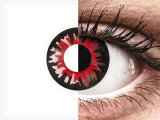ColourVUE Crazy Lens - Volturi - plano (2 lenses)
