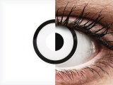 ColourVUE Crazy Lens - White Zombie - plano (2 lenses)