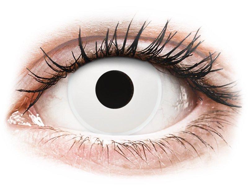 ColourVUE Crazy Lens - WhiteOut - plano (2lenses)
