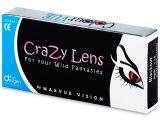 ColourVUE Crazy Lens - BlackOut - power (2 lenses)