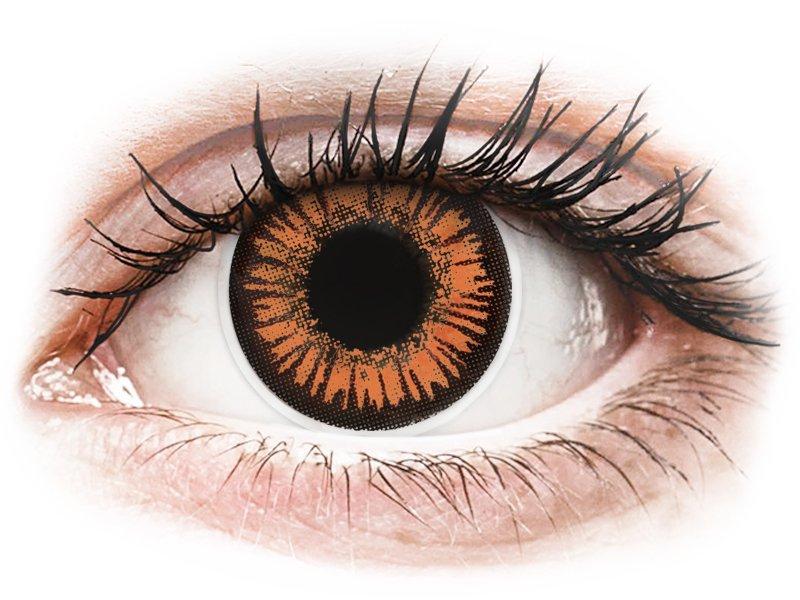 ColourVUE Crazy Lens - Twilight - power (2 lenses)