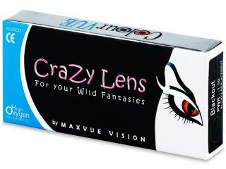 ColourVUE Crazy Lens - WhiteOut - power (2 lenses)
