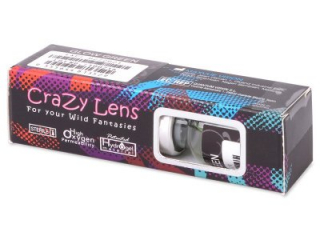ColourVUE Crazy Glow Blue - plano (2 lenses)