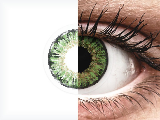 TopVue Color daily - Green - plano (10lenses)