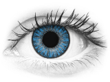TopVue Color daily - Sapphire Blue - power (10lenses)
