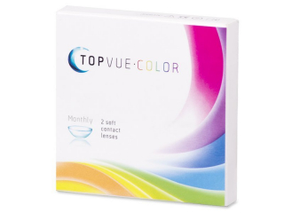 TopVue Color - Brown - power (2 lenses)