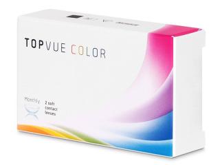 TopVue Color - True Sapphire - power (2lenses)