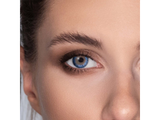 TopVue Color - True Sapphire - plano (2lenses)