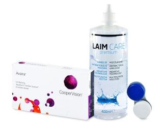Avaira (6lenses) +Laim-CareSolution 400ml