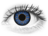 ColourVUE Glamour Blue - plano (2lenses)
