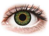 ColourVUE Glamour Green - plano (2lenses)
