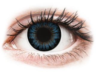 ColourVUE BigEyes Cool Blue - plano (2lenses)