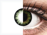 ColourVUE BigEyes Party Green - plano (2lenses)