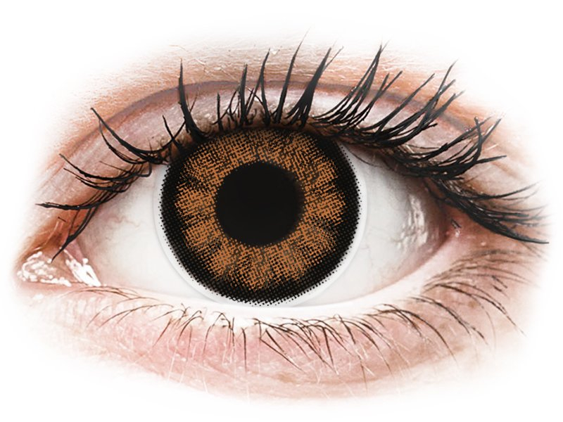 ColourVUE BigEyes Sexy Brown - plano (2lenses)