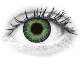 ColourVUE Fusion Green Yellow - power (2lenses)