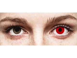 ColourVUE Crazy Lens - Red Devil - daily plano (2 lenses)