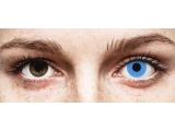 ColourVUE Crazy Lens - Sky Blue - daily plano (2 lenses)