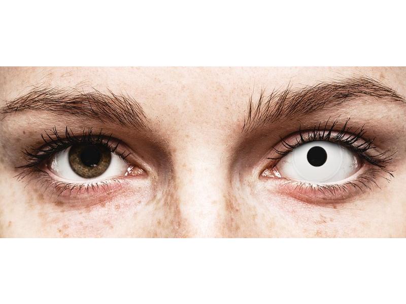 ColourVUE Crazy Lens - Whiteout - daily plano (2lenses)