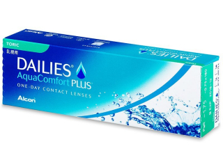 Dailies AquaComfort Plus Toric (30 lenses)