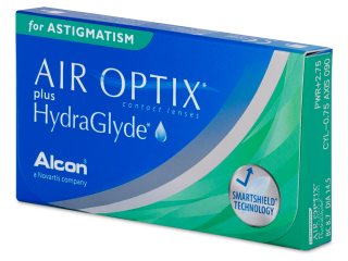 Air Optix plus HydraGlyde for Astigmatism (3 lenses)