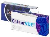 ColourVUE 3 Tones Aqua - plano (2lenses)