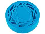 Lens Case with mirror - blue ornament