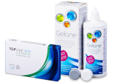 TopVue Air for Astigmatism (3 lenses) + Gelone 360 ml