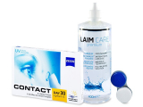 Carl Zeiss Contact Day 30 Spheric (6lenses) +Laim-CareSolution 400ml