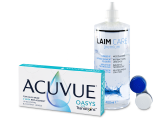 Acuvue Oasys with Transitions (6 lenses) + Laim-Care solution 400 ml