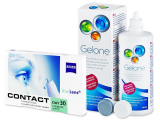 Carl Zeiss Contact Day 30 Compatic (6lenses) +GeloneSolution 360ml