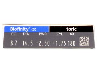 Biofinity Toric (3lens)