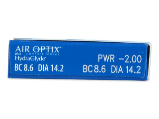 Air Optix plus HydraGlyde (6 lenses)