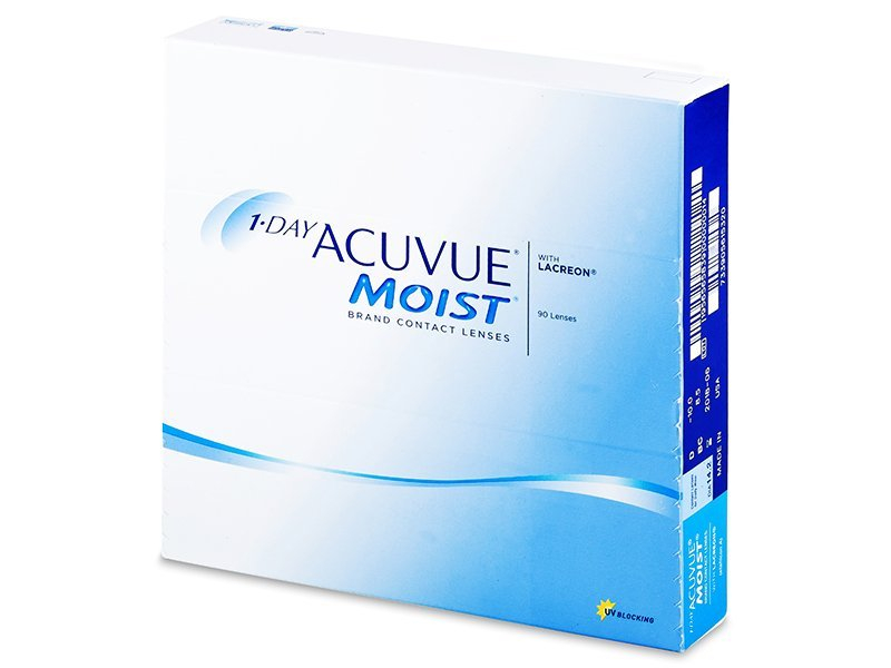 1 Day Acuvue Moist (90lens)