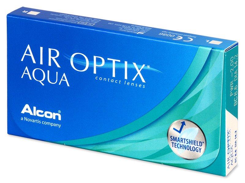 Air Optix Aqua (6Adet Lens)