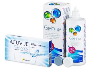 Acuvue Oasys (6lenses) +GeloneSolution 360ml